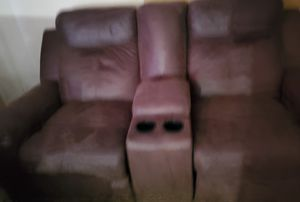 Ashley furniture reclining sofa and loveseat for Sale in Wichita, KS