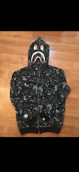 """Bape shark jacket """"space camo"""" for Sale in Patterson, CA"""