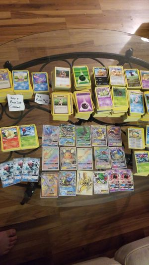 MASSIVE Pokemon Card Collection....500+ Rares....3000+ Commons for Sale in New Port Richey, FL