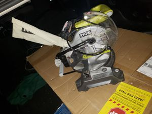Ryobi 7in saw with angulation for Sale in Citrus Heights, CA