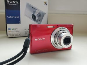 Sony DSC-W330 Camera with Accessories for Sale in Inglewood, CA