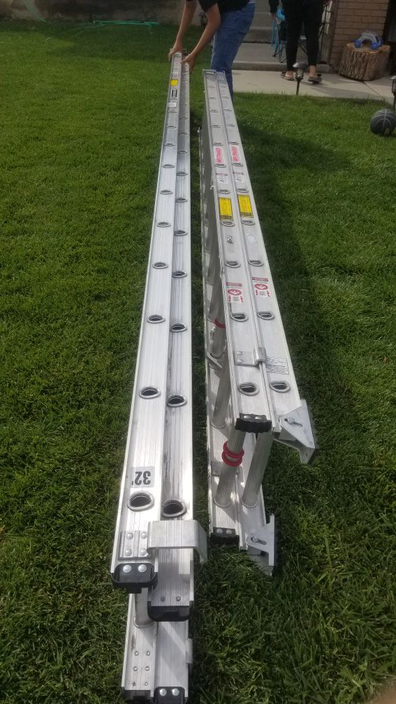 New extension ladder 32ft and 24ft $450 for both