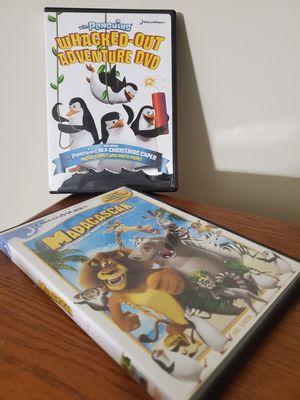 Madagascar DVD'S $10 for Sale in Blythewood, SC