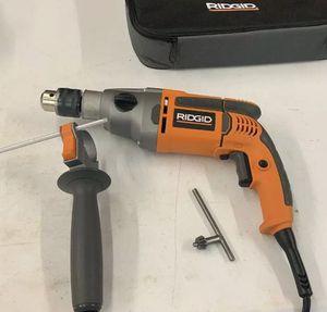 "Ridgid Hammer Drill 8.5A Corded 1/2"" Heavy-Duty for Sale in St. Petersburg, FL"