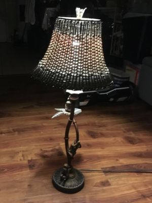Beautiful cast iron lamp for Sale in Los Angeles, CA