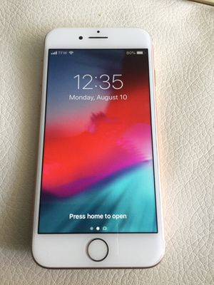 New Condition, 64GB, Apple iPhone 8, Unlocked for ANY network, Boxed w New Accessories, Rose Gold for Sale in Alexandria, VA