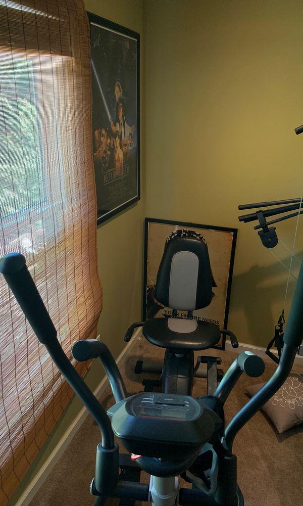 Various home gym