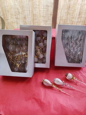 Blow glass party favors for wedding's, Quinceanera, Anniversary for Sale in Riverside, CA