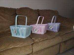 Rectangle Wooden Easter Baskets for Sale in Fort Pierce, FL