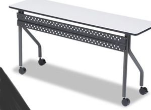 New!! Training table, task table, office furniture , gray charcoal for Sale in Phoenix, AZ