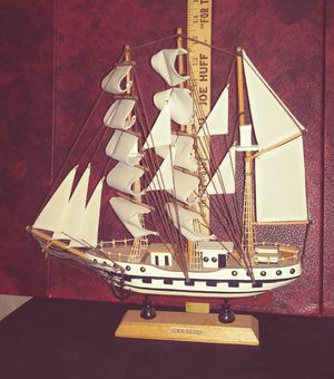 Model Ship Decoration Decor Piece for Sale in Severn, MD