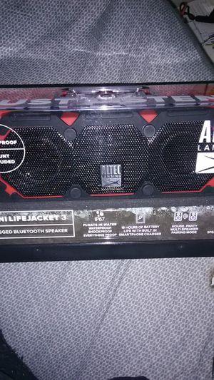 Altec Mini life jacket 3 Bluetooth speaker for Sale in Portland, OR