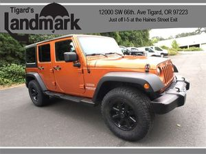 2011 Jeep Wrangler Unlimited for Sale in Tigard, OR