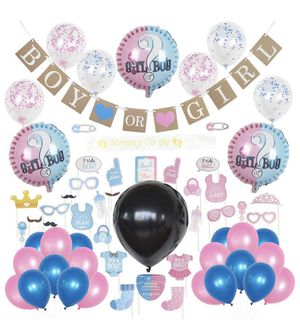Baby Shower Gender Reveal Party Decorations for Sale in Plano, TX