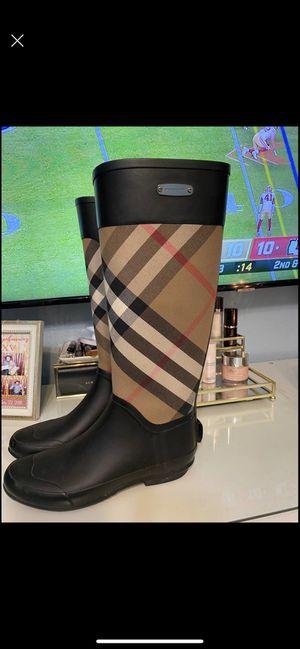 Burberry Rain Boots for Sale in Grand Prairie, TX