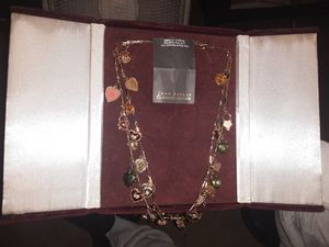 Joan Rivers Classic Collection Heart Necklace for Sale in Bartlesville, OK