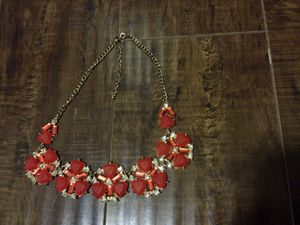 Gorgeous necklace orange for Sale in Los Angeles, CA