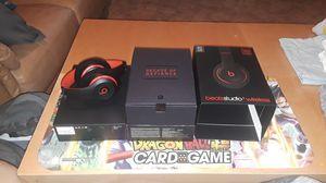 Wireless Beats studio 3.0 red/black noise cancelling headphones for Sale in Deltona, FL