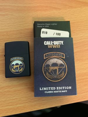 Call of duty Zippo 19/100 *NEED GONE! MAKE OFFER* for Sale in Kirkwood, NJ