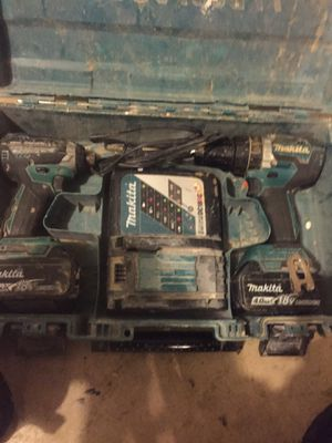 Makita drill set for Sale in Fort Washington, MD