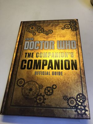 Dr. Who the companions companion official guide! New! for Sale in Savannah, GA