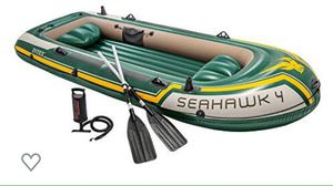 4 person inflatable boat for Sale in Elkridge, MD
