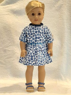 Homemade dress with American girl shoes for Sale in Boca Raton, FL