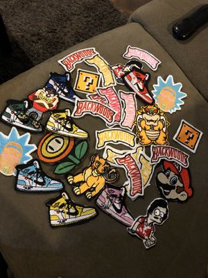 Send logos for custom embroidery patches for Sale in National City, CA