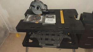 Power Tool Ridgid Saw with Folding Work Table for Sale in Cleveland, OH