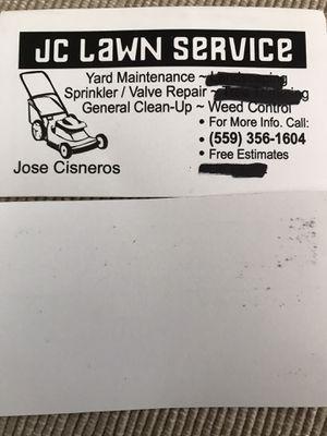 Cortamos Suyarda y a demos limpiezas tiro basuras prosupoesto gratis estoy asus ordenes for Sale in Dinuba, CA