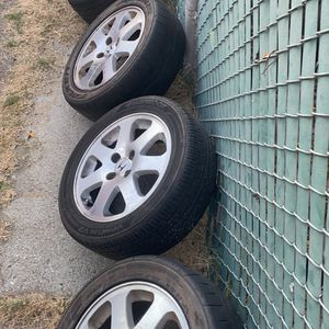 Si Rims Needs Tires for Sale in Glendale, CA