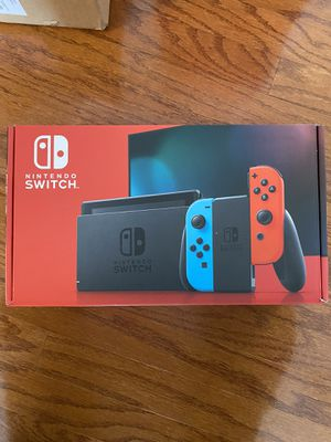 Nintendo switch neon red and blue brand new for Sale in Douglasville, GA