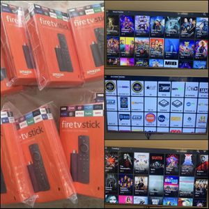 Unlocked and Programmed Fire TV sticks with Unlimited Movies, TV Shows(Series) and Live TV for sale. No Cable Needed just (WIFI). for Sale in Port St. Lucie, FL