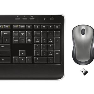 Logitech MK520 Wireless Keyboard and Mouse Combo — Keyboard and Mouse, Long Battery Life, Secure 2.4GHz Connectivity for Sale in Ellicott City, MD