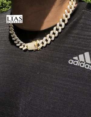 New 18 k yellow gold Cuban link chain for Sale in Fort Lauderdale, FL