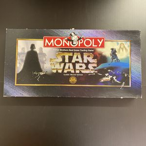 Monopoly Star Wars Classic Trilogy Edition 1997 Board Game Complete Unused for Sale in San Jose, CA
