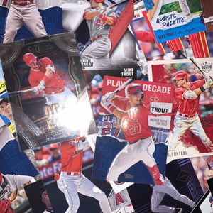 Los Angeles Angels Baseball Card LOT 400+ Cards for Sale in Escalon, CA