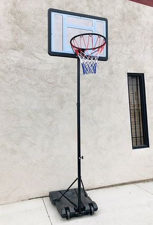 "New $65 Junior Kids Sports Basketball Hoop 31x23"" Backboard, Adjustable Rim Height 5' to 7' for Sale in El Monte, CA"