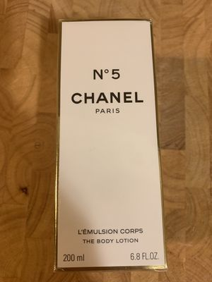 Chanel No. 5 Body Lotion Perfumed 6.8 fl oz for Sale in Seattle, WA