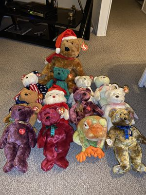 13 Large TY Beanie Babies for Sale in BELLEAIR BLF, FL