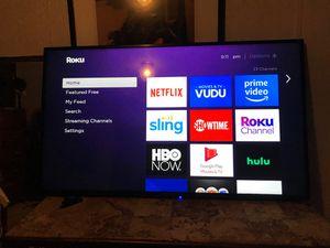 55inch smart tv for Sale in Dallas, TX