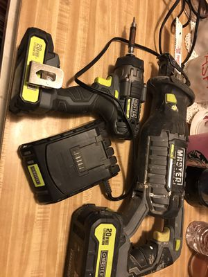 Saws all and torque drill $100 obo for Sale in Taft, CA