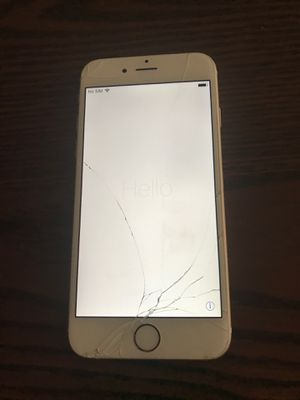 I am selling iPhone 6 64gb the phone is still work good but phone has little screen scratches for Sale in Queens, NY