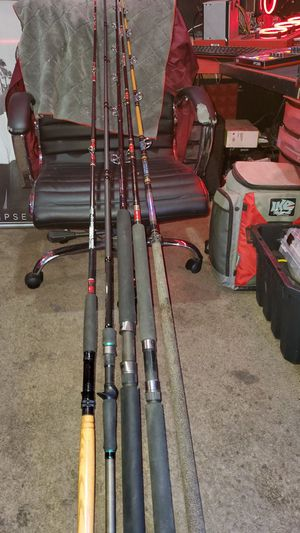 Saltwater Conventional Casting Fishing Rods for Sale in Stanton, CA