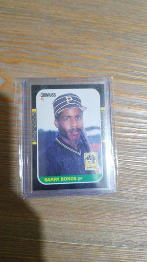 Baseball card- donruss barry bonds rc for Sale in Roseburg, OR