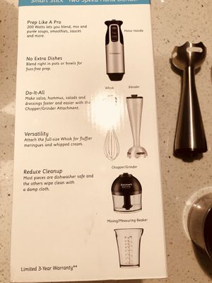 Cuisinart hand blender for Sale in North Potomac, MD