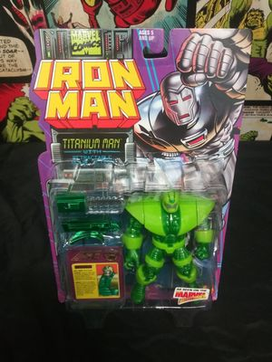 Vintage Titanium Man Marvel Action Hour Toy Biz Iron Man Animated Series Figure for Sale in Oakland, CA