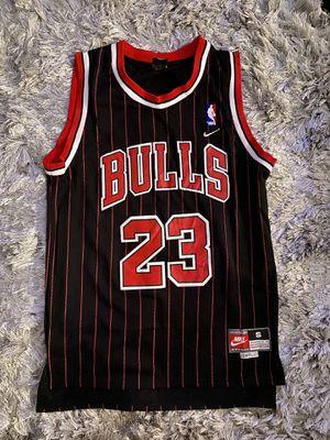 Michael Jordan Pinstripe Chicago Bulls Jersey LAST DANCE for Sale in Aurora, IL