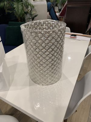 "Crystal lamp shade 10"" w x 14"" h for Sale in New York, NY"