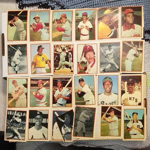 Rare 1985 Vintage Mint Baseball Card Set of All Stars! Ruth, Aaron,Berra,Banks! for Sale in Clarksville, IN